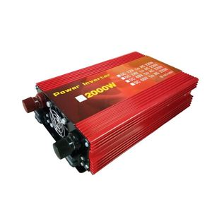 Transformer 2000W/12V/A spare parts with charger Power Converter 2000w modified pure sine wave inverter