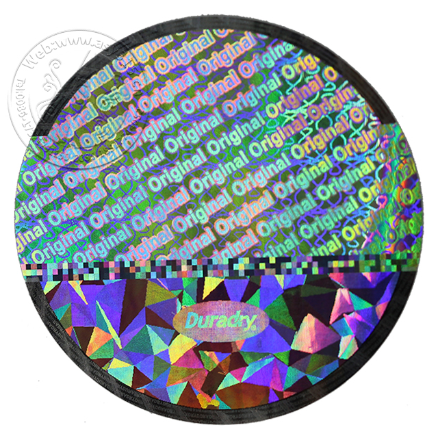 High demand Security fluorescence Printing Paper sticker