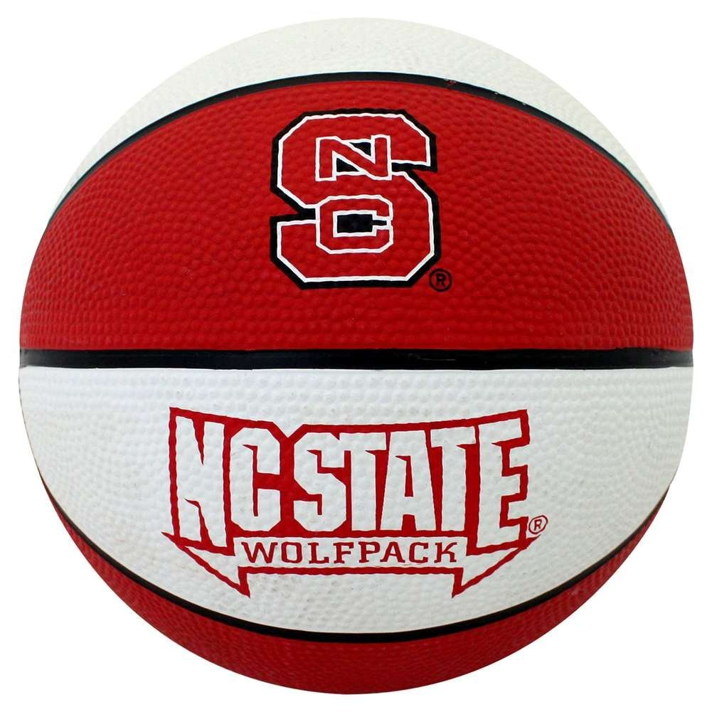 North Carolina State Wolfpack Mini Rubber Basketball
