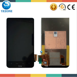 Mobile Phone Original New Black Color Replacement Lcd Assembly For A9191 HTC Desire HD G10,For HTC Desire HD A9191 LCD Screen