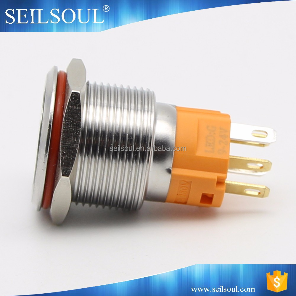China 19mm Latching Switch Wholesale Alibaba Push Button Lighted Switches