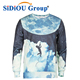 Latest Brand 3D Digital Stars Sweater Men's 3D Three-Dimensional Flowers Printing Cotton Sublimation Hoody