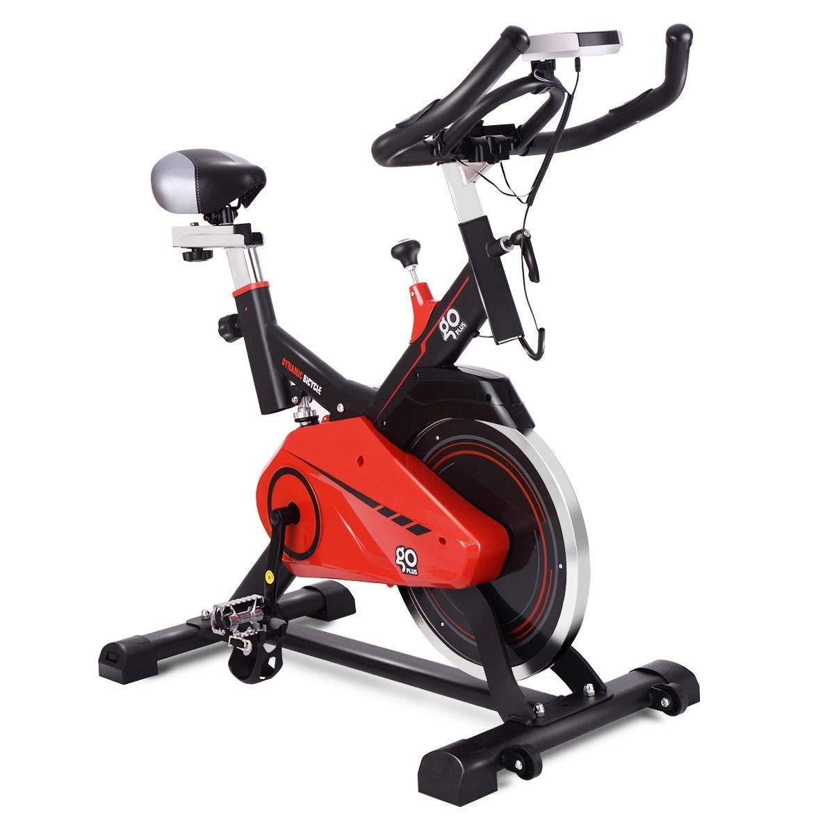 BeUniqueToday Exercise Bike Stationary Bicycle Cardio Equipment, Brand New and Exercise Bike Stationary Bicycle Cardio Equipment, Exercise Bike Stationary Bicycle with Durable Frame