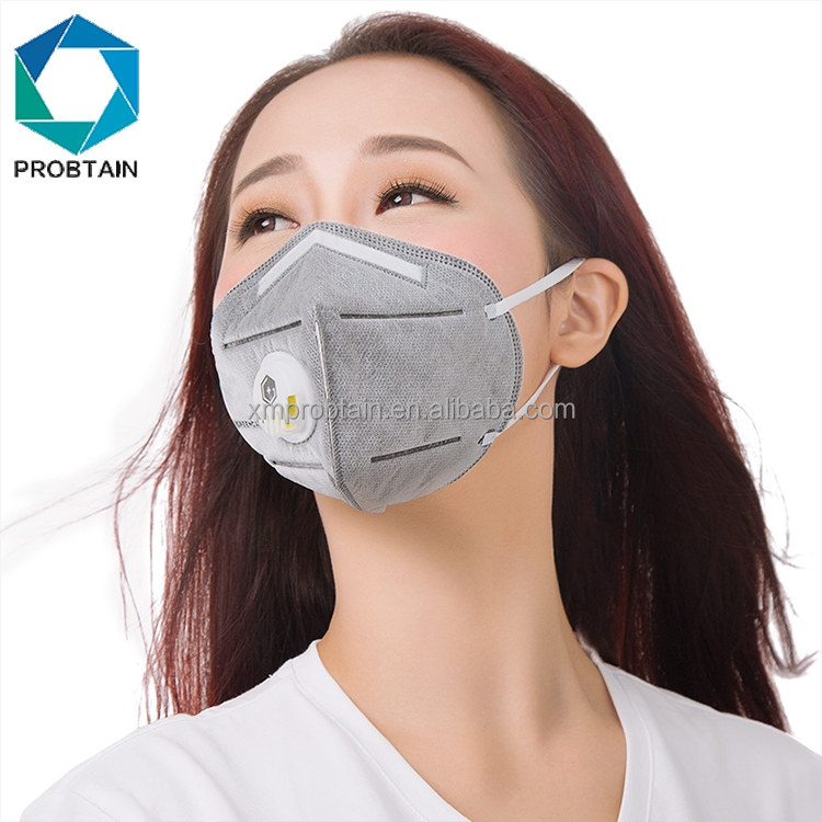 Cheap Price Anti Dust Face Mask Mouth Pm2.5 Anti Haze Facial Mask Breathing Valve Carbon Filter Respirator Dust Mask On Mouth To Enjoy High Reputation At Home And Abroad Masks Health Care