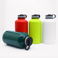 18 8 Stainless Steel Cheap Reusable Water Bottles Flask Factory