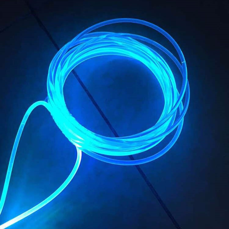 6mm Side Glowing Lampe Fibre Optique For Pool