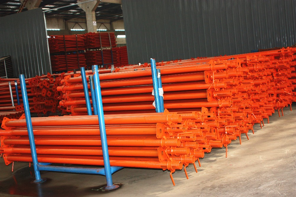 Weights of steel scaffold prop pipe
