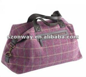 Tweed Weekend Bag - Buy Tweed Weekend Bag,Ladies Weekender Bag ...