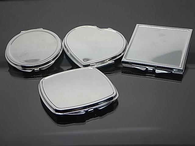 miroir de poche personnalis doubles c t s miroir de poche pas cher miroir compact buy. Black Bedroom Furniture Sets. Home Design Ideas