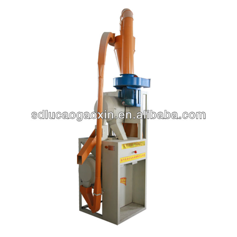 Multi-functional 6FW-30 small scale maize flour mill machine