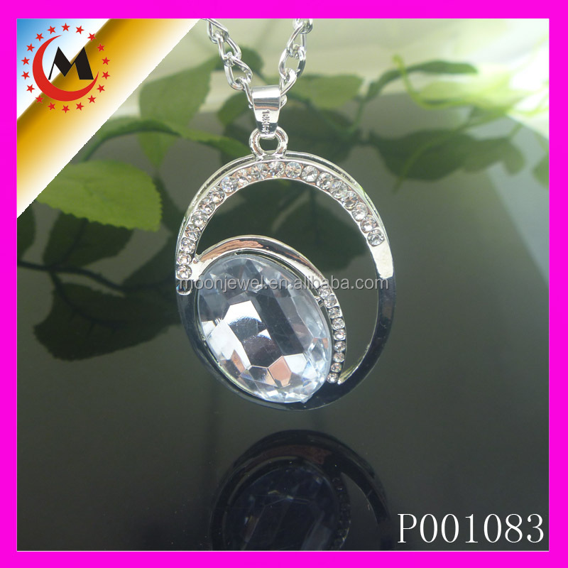 MADE IN CHINA CIRCLE & OVAL PENDANT AND EVERYTHING THAT SPARKLES,RHINESTONE PENDANT,SILVER PENDANT
