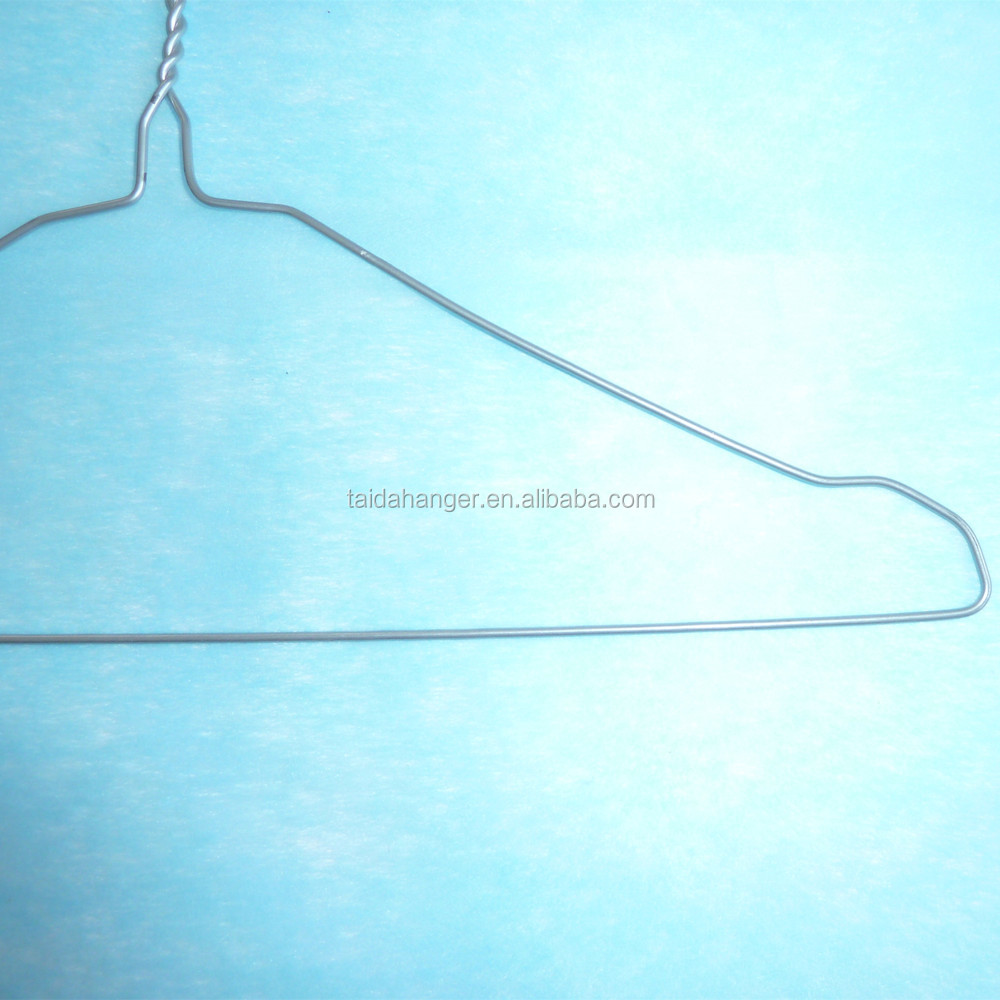 16\'\' 18\'\' 1.9mm Metallic Color Metal Wire Hanger Dry Cleaner Wire ...