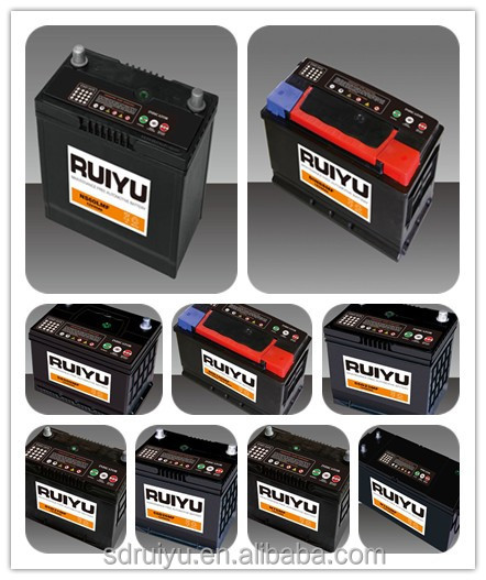 Din 60 12 V 60ah Auto Accessories Maintenance Free Car Battery
