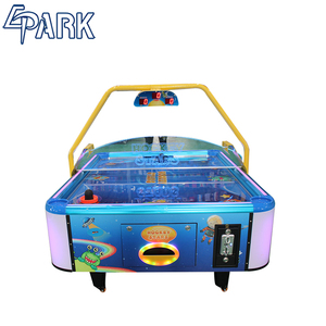 Children's hockey coin-operated entertainment and leisure game machine