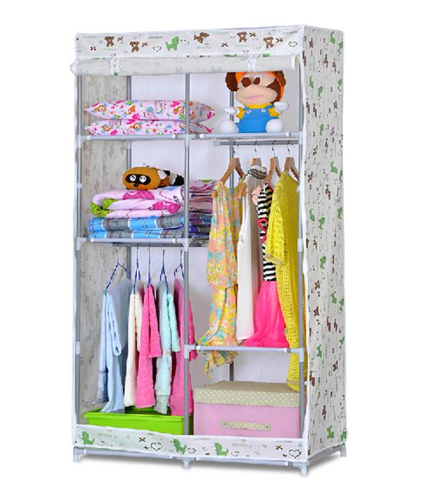 Armario para nios nios simple combinacin armario armario - Armarios de tela baratos ...