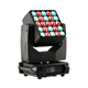 factory price matrix 25x15w beam wash zoom 4-in-1 rgbw led moving head light for disco club