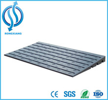 Rubber Black Car Threshold Ramps Road Curb Ramps or Kerb Ramp for Wheelchair and Car