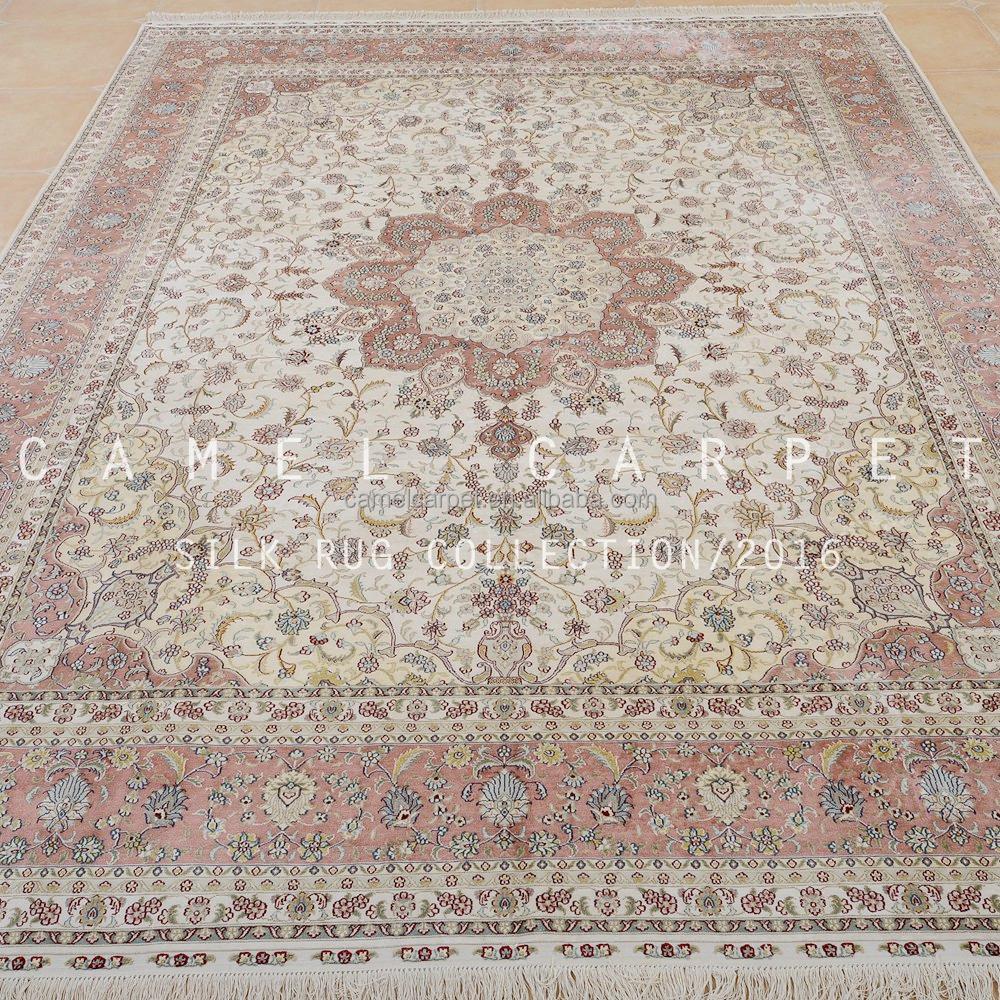 rosa bereich teppich 9x12 gro e reiner seide arten von persische teppiche teppich produkt id. Black Bedroom Furniture Sets. Home Design Ideas