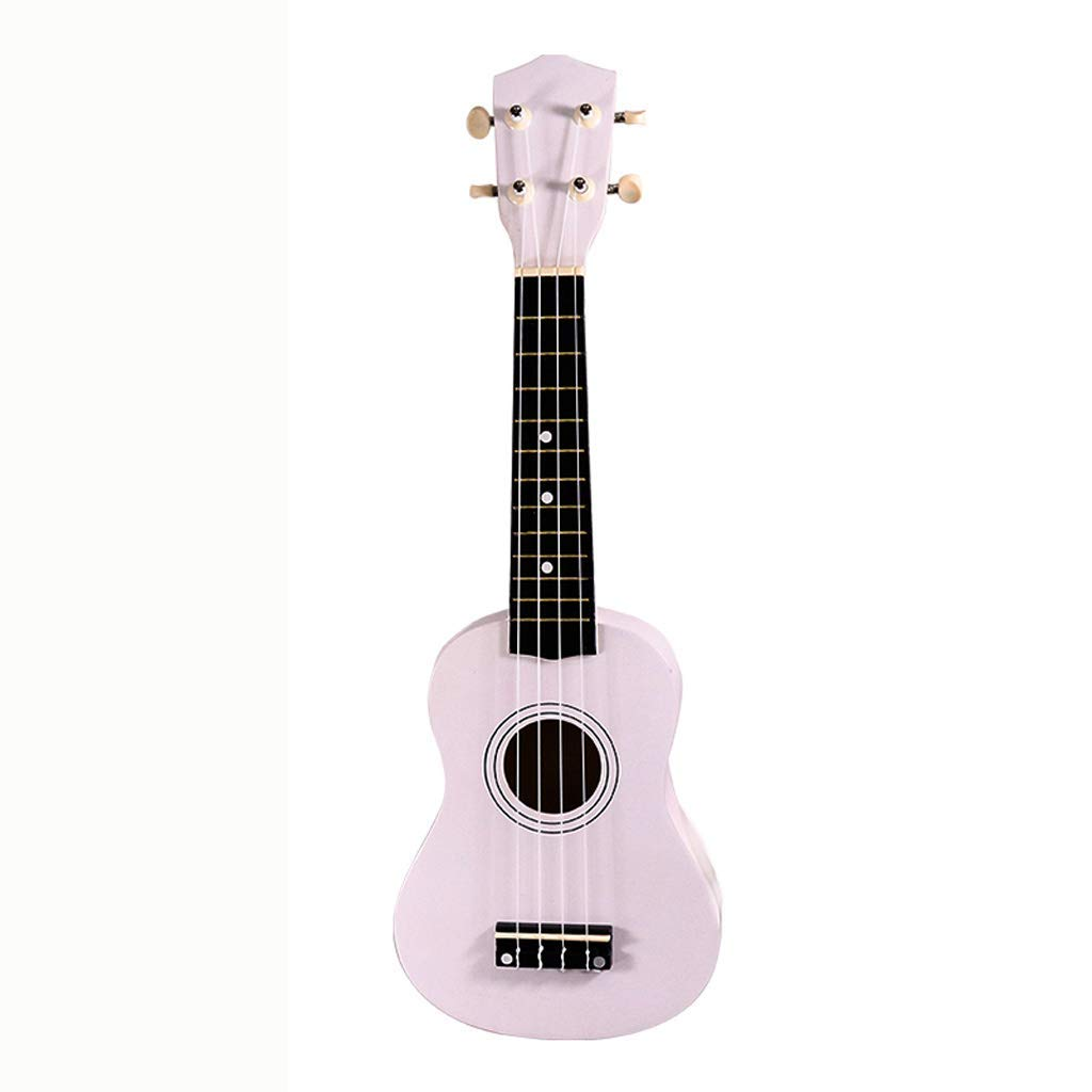 Toys & Hobbies Learning & Education 21-inch Basswood Pure Color Ukulele 4 Strings Guitar Musical Instrument For Beginners Learning Interest Development Toys