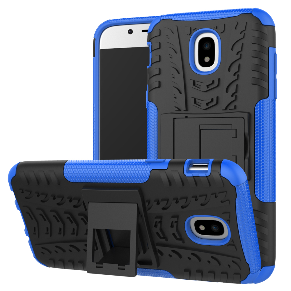 Rubber Tire Tyre Emboss Kickstand Protective Cell Phone Case For samsung galaxy J4 J6 J8 2018