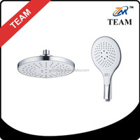TM-8015 3 function ABS chrome plastic top showers heads rotating shower head overhead shower head