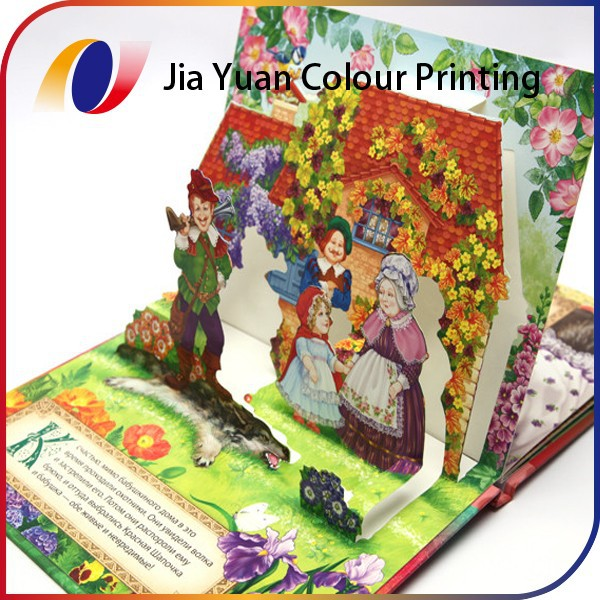 Pantone color pop up book strong style color printing service strong style color offset strong paper board