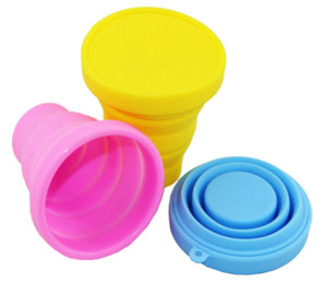 China Supplier Hot Selling High Quality heat resistance folding silicone cup