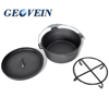 Eco-Friendly Feature outdoor cast iron dutch oven