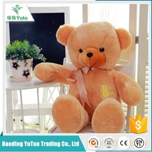 eco-friendly factory comfortable wholesale stuffed plush bear teddy