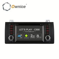 Android6.0 4 core Ownice C500 car audio player for BMW E39 X5 M53 with wifi GPS NAVI support DAB TMPS 4G LTE