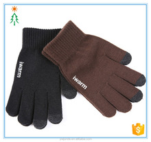 2017 wholesale fashion knit magic factory cheap warm winter touch gloves