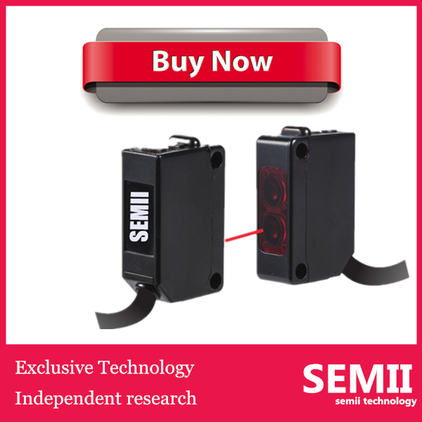 Laser Light Source SEMII Photo Electric Switch Sensor