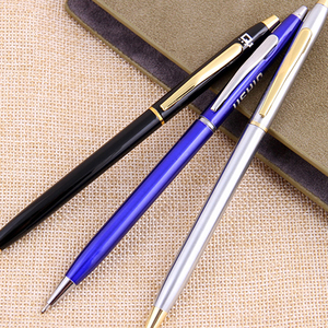 Luxury Thin Metal Pen With Different Colors Available