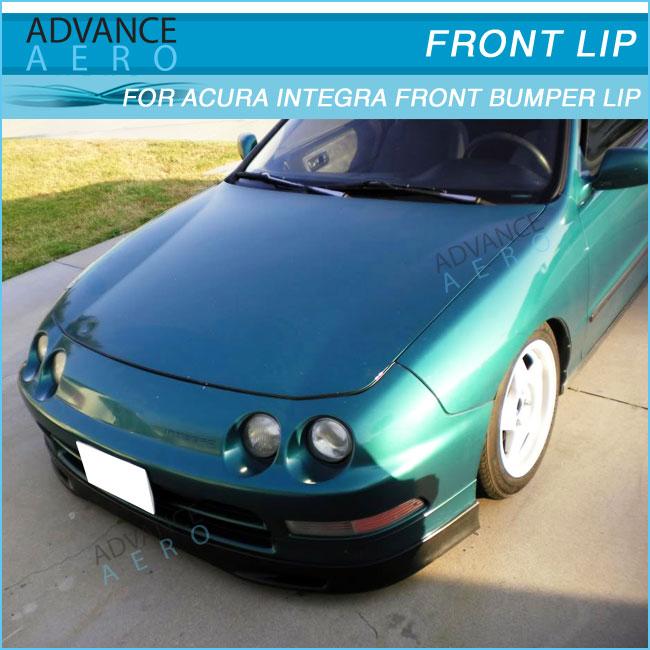For Acura Integra 94 95 96 97 Sp Style Pu Front Bumper Lip