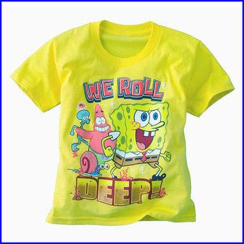 44e553a1e4dc China factory custom design kids cartoon print wholesale cotton funny  t-shirts