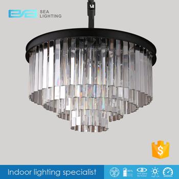 Amerikaanse Moderne Luxe Led Kristallen Hanglamp Woonkamer ...