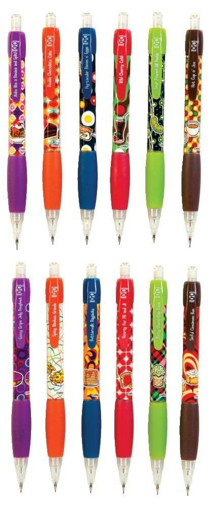 Raymond Geddes Scent-Sibles Doo Wop Diner Mechanical Pencil Set, 192 Pack (69365)
