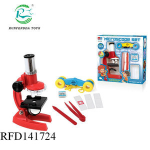 Intelligent science microscopes kids educational microscopes toys