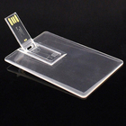 Transparent Card Flash Memory Credit Card Size Usb Memory Stick Business Card