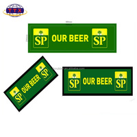 high quality Nitrile Rubber Bar Mat/Runner with Logo Printing