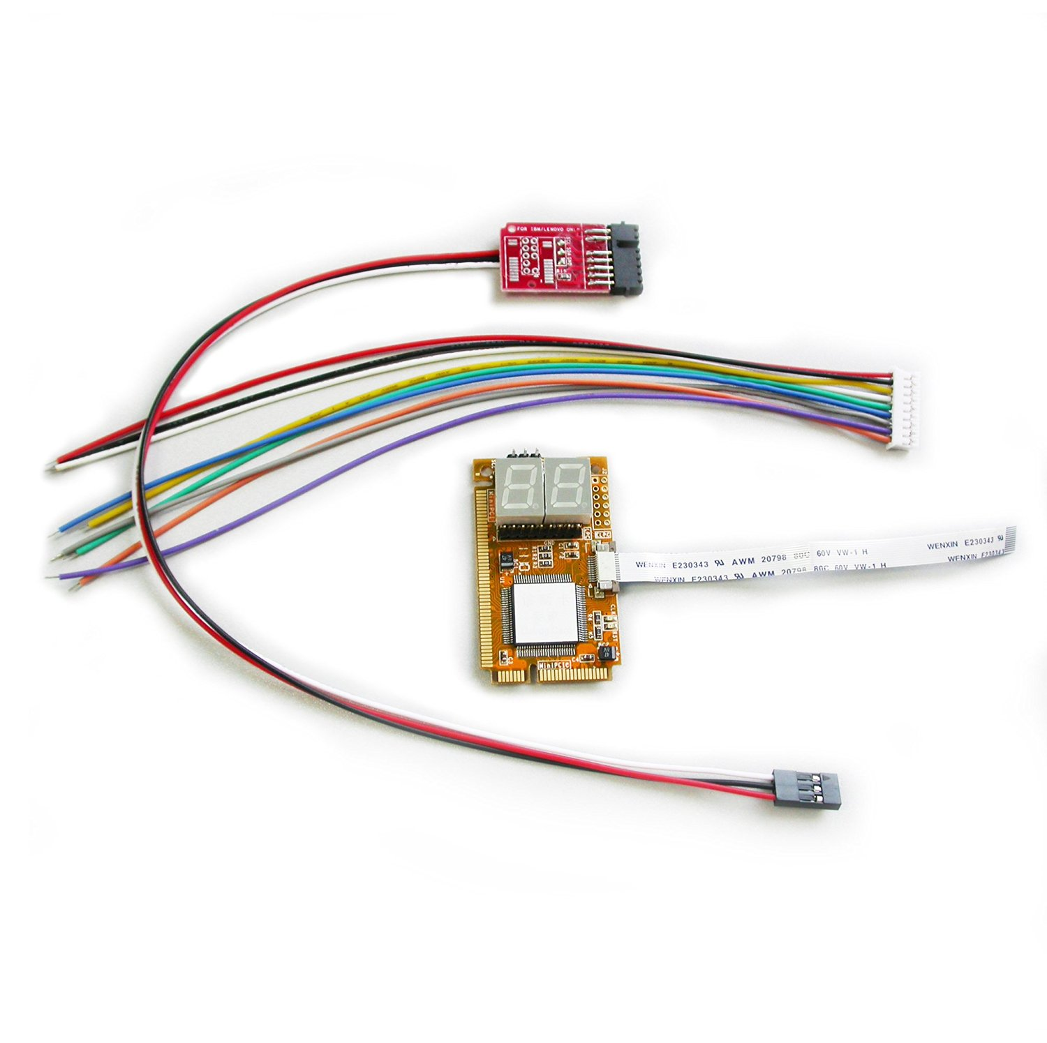 Cheap I2c Pci Find Deals On Line At Alibabacom Wiring Get Quotations Chipsetclub 5 In 1 E Lpc Elpc Debug Card Pc Diagnostictester