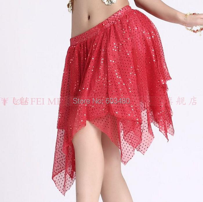 bce450cf57a Get Quotations · Indian skirt Women's Belly dance costume Highlights cloth  short skirt gypsy belly dancing skirts/ flamenco