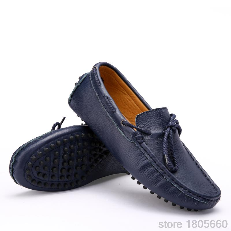 Casual Mens Leather Loafers Driving Shoes 2015 Comfortable Spring Summer Shoes Mocassin Slip on Loafers Sneaker mocasines hombre