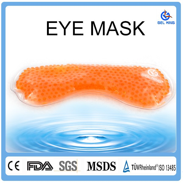 2017 Customized 3D High quality Cool Hot and Cold Eye Mask Luxury Sleeping Gel Eye Mask