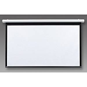 "Salara/Series M Pearl White Electric Projection Screen Size/Format: 120"" / 4:3"