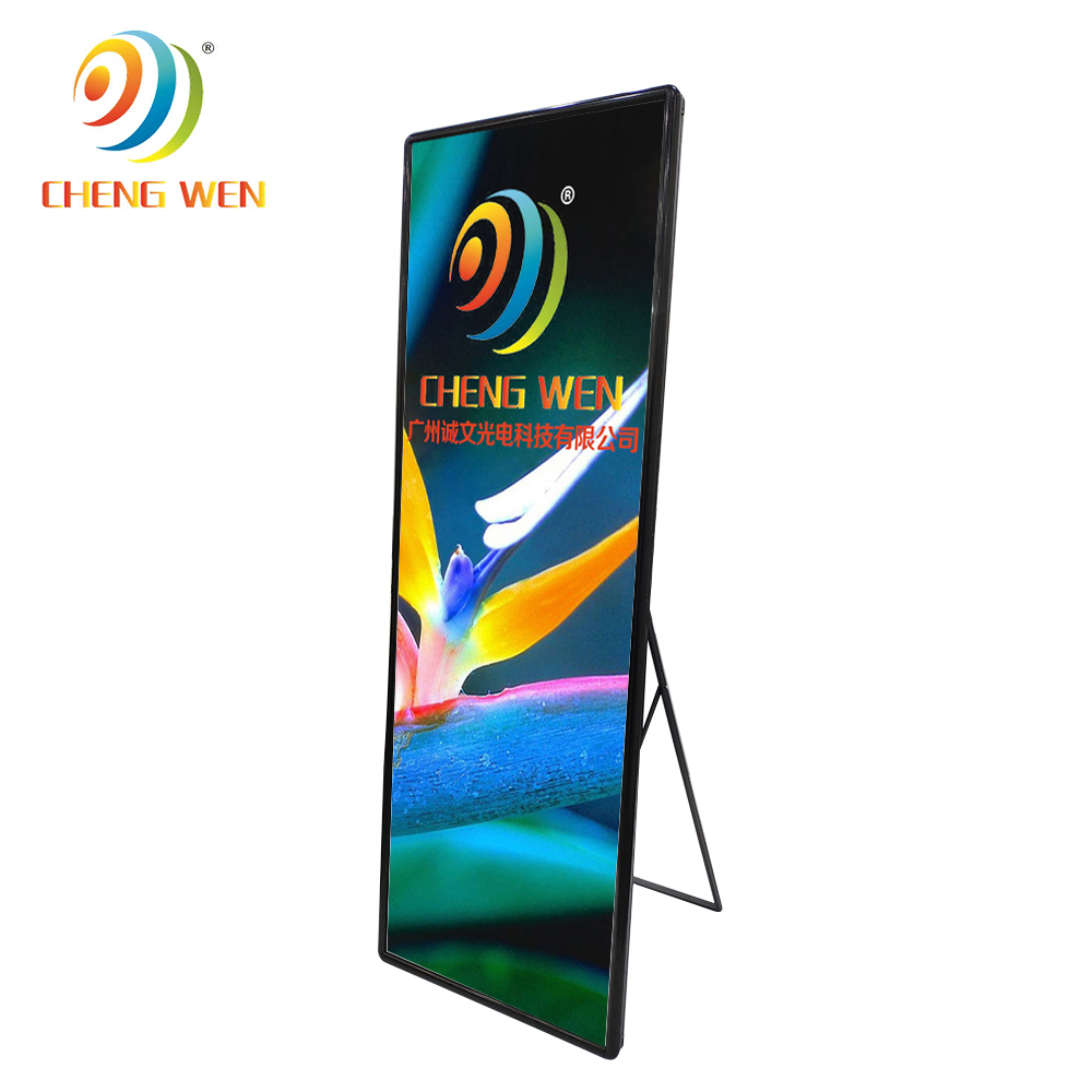 2.5mm HD Indoor poster display led advertising panel <strong>Screens</strong> Retail Shopping Centre