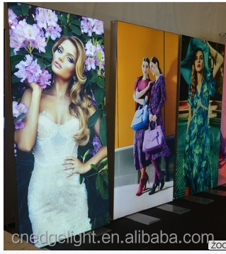 new business ideas soft membrane fabric advertising display led light box