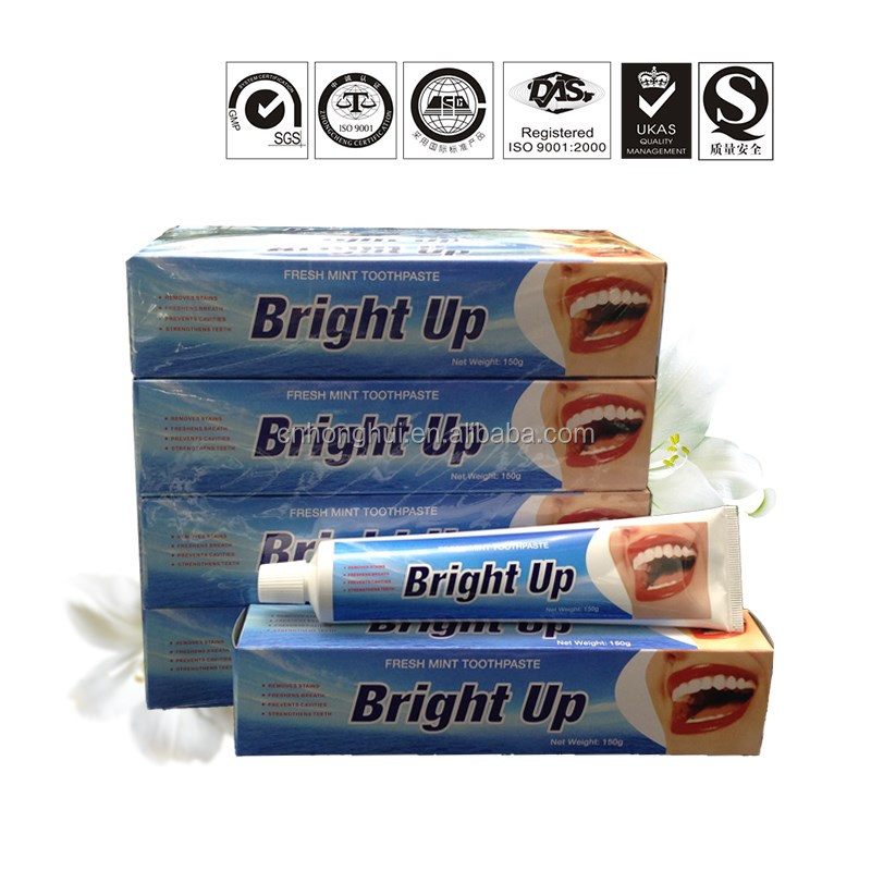Home use and adult age group whitening toothpaste 100% natural activated charcoal toothpaste and toothbrush inside