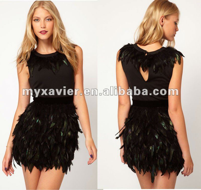 Exclusive Dress With Feather Skirt Plus Size Peplum Dress - Buy Plus Size  Peplum Dress,Plus Size Women Clothing,Plus Size Dress Product on Alibaba.com