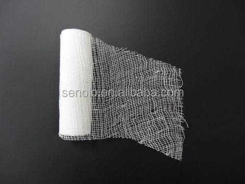 High Absorbency Surgical Sterile Gauze 100% Cotton guaze Bandage Cloth
